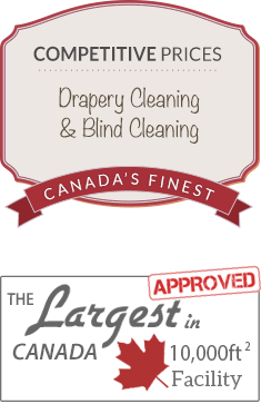 Finest Drapery & Blind Cleaner in Canada